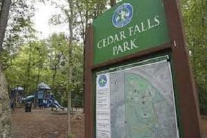 District Hike for Recruiting @ Cedar Falls Park