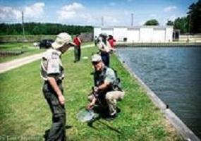 Boy Scout Fishing MB Clinic @ John E. Pechmann Fishing Education Center